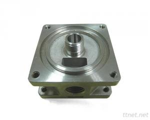 4 Port Valve of CNC Turned Parts